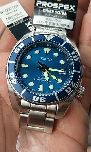 Japan jdm seiko sumo coral blue abdc069 not sbdc033