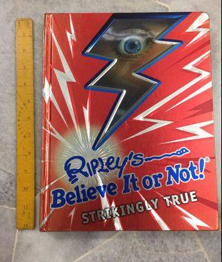 RIPLEY'S Believe it or Not! Hard cover