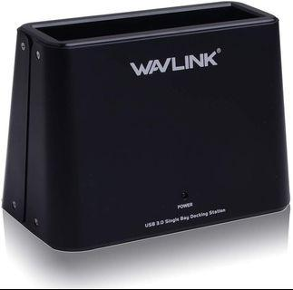 🚚 (A119) Wavlink USB 3.0 Single Bay External Hard Drive Docking Station Support 2.5 and 3.5 inch HDD and SSD