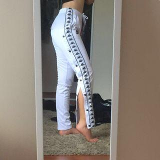 Kappa Snap Button Trackpants