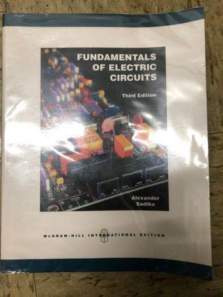 Fundamental of electric circuits