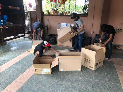 Kotak Pindah Rumah 2nd , Boxes secondhand