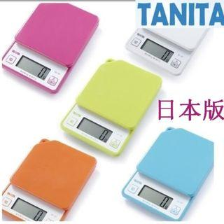 Tanita 廚房磅 電子磅 烘焙磅 KD-187 日本版 1-2Kg