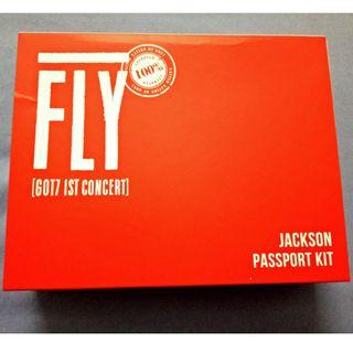 GOT7 1st concert Passport Kit Jackson Edition