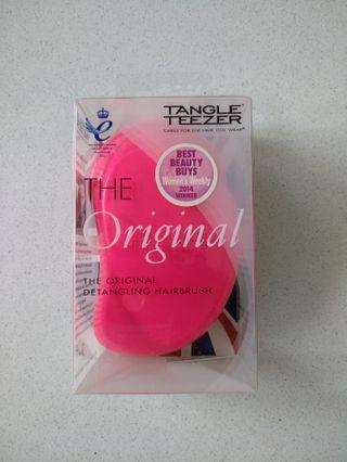 Tangle Teezer Comb Detangler Hot Pink Authentic