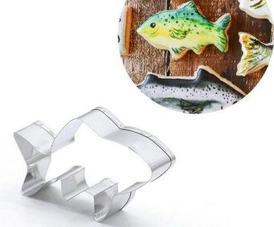 🚚 Fish cookie cutter ( stainless steel )