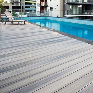 Chengal Outdoor Decking for the discerning owner who only wants the best for his home.