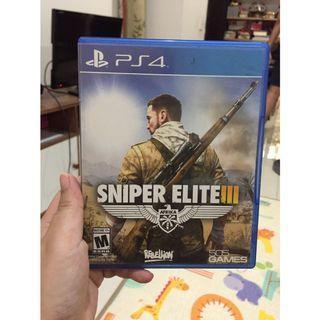 Preloved - Kaset PS4 - Sniper Elite III