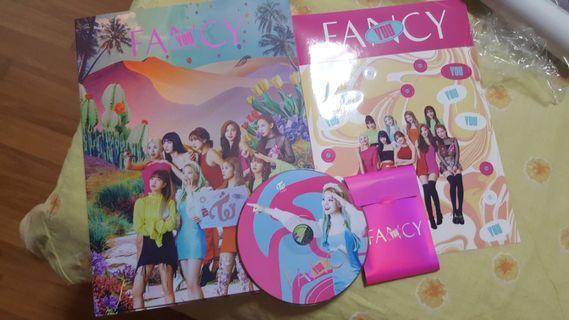 TWICE FANCY ALBUM VER 2