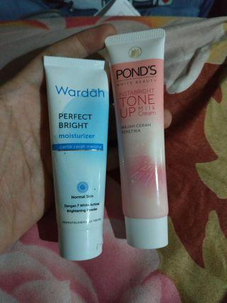 Wardah Perfect Bright & POND'S