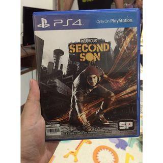 Preloved - Kaset PS 4 - Second Son