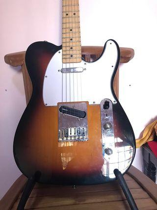 Standard Mexican Tele (DiMarzio Chopper T Bridge and Twang King Neck)