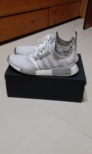 Nmd r1 blizzard grey white