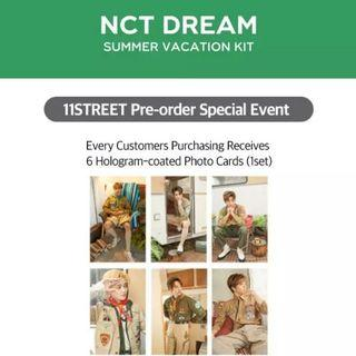 [Wts/sharing/loose] nct dream summer kit from 11st