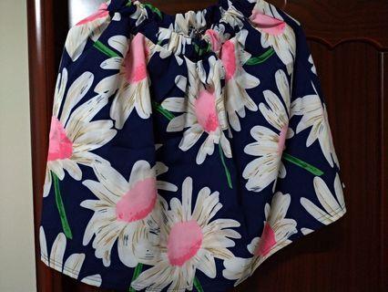 🚚 短花裙