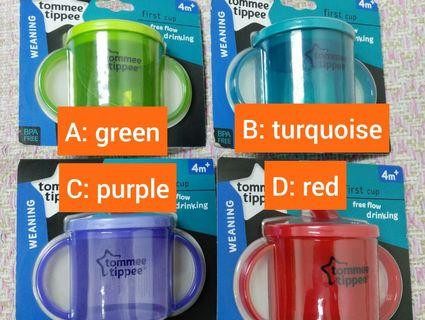 <New>Tommee Tippee first cup 4m+
