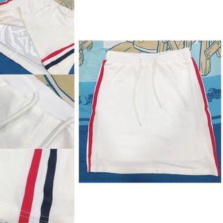 Korean A Pattern Skirt