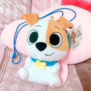 🚚 正版迪士尼寵物當家-狗狗麥斯布偶掛包/小包