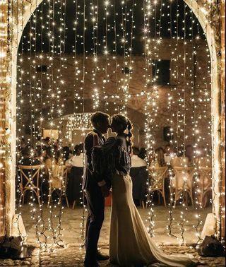 INSTOCKS; Classic Curtain Fairy Lights