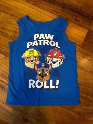 Paw patrol 2yrs tee