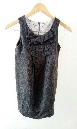 ZARA KIDS original Gray Dress