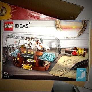 Lego Ideas- Ship in a Bottle 21313