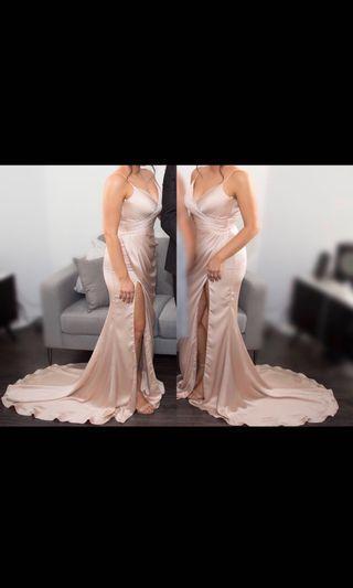 Dollhouse gown
