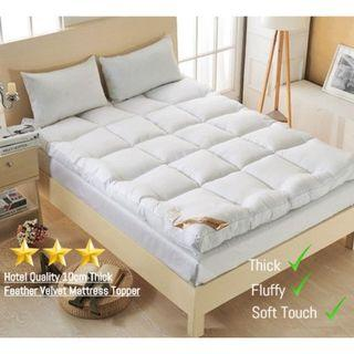 🔥Japanese🔥 Fluffy Thick Comfortable Mattress Topper