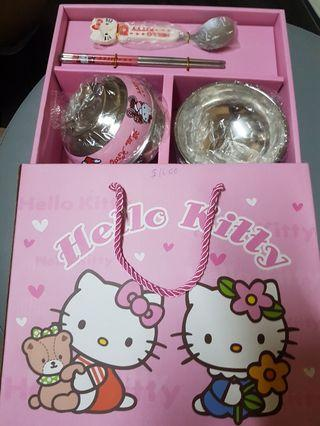 New Hello Kitty dish set for sale!
