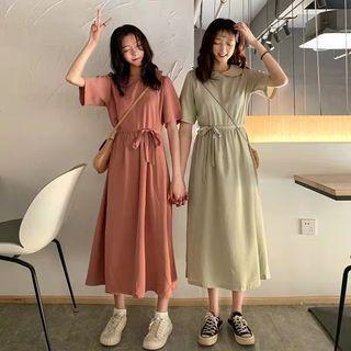 長身裙(配腰帶)