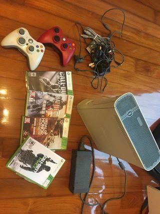 Xbox Full Set $400 with 4 game