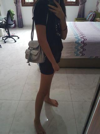 Tas Backpack Silver bisa diselempang