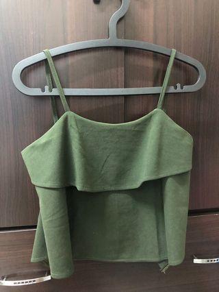 🚚 一整套綠色背心套裝