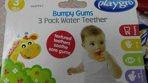 Playgro set of 3 water teether