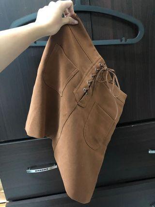 🚚 駝色短裙