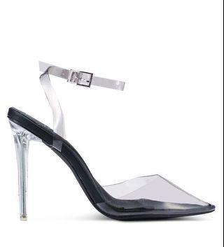 Missguided Transparent Heels