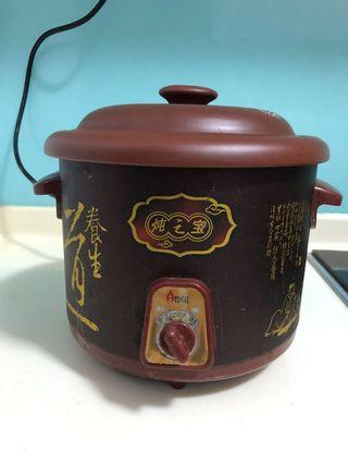 Slow Cooker with high quality clay