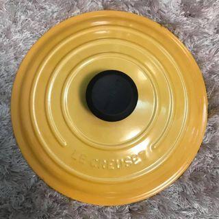 Le Creuset honey 蜂蜜黃 24cm 淺底燉飯圓鍋