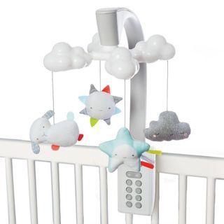 BB電動音樂床頭吊飾玩具