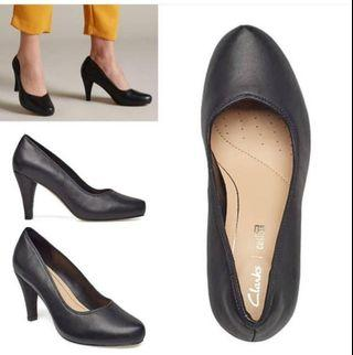 Clarks Dahlia Leather Shoes