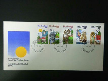 1982 FDC New Zealand