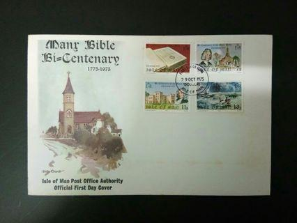1975 FDC Isle of Man