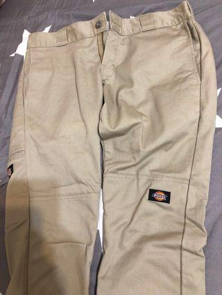 Dickies WP811 skinny 窄管 窄版工作褲 31腰 卡其
