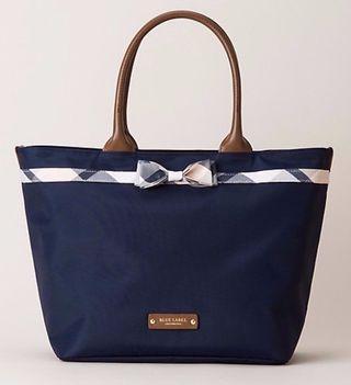 🚚 Blue Label Crestbridge Tote Bag (Large) in Navy