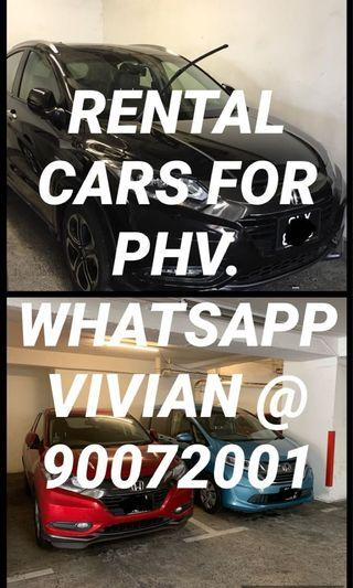 🚚 CAR RENTAL FOR PHV 🥰