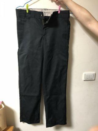 Dickies 873 黑色工作褲 尺寸32x30