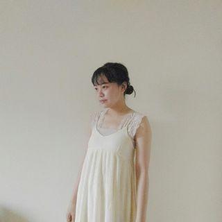 🚚 (免運)正韓米黃色細肩帶洋裝