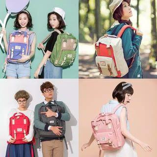 Doughnut Macaroons Backpack series Tas Import Jepang