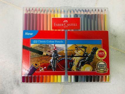 Faber Castell 48 Classic Color Pencils
