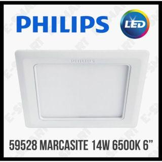 Philips 59528 Marcasite 14W LED Downlight 6500K Daylight